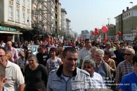 Fotografías manifestación 29-M en Ferrol - +40.000 manifestantes - Ferrolterra - contra la reforma laboral del PP - Fotografía por Fermín Goiriz Díaz (16)