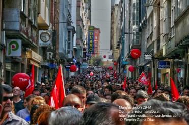 Fotografías manifestación 29-M en Ferrol - +40.000 manifestantes - Ferrolterra - contra la reforma laboral del PP - Fotografía por Fermín Goiriz Díaz (20)