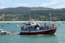 Procesión Marítima en honor de la Patrona de Cedeira - Cedeira, 16 de agosto de 2012 - fotografía por Fermín Goiriz Díaz (155)