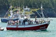 Procesión Marítima en honor de la Patrona de Cedeira - Cedeira, 16 de agosto de 2012 - fotografía por Fermín Goiriz Díaz (163)