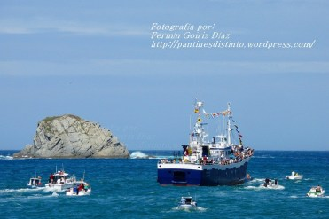 Procesión Marítima en honor de la Patrona de Cedeira - Cedeira, 16 de agosto de 2012 - fotografía por Fermín Goiriz Díaz (197)