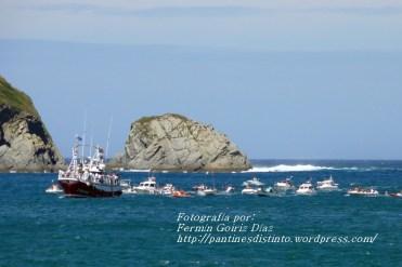 Procesión Marítima en honor de la Patrona de Cedeira - Cedeira, 16 de agosto de 2012 - fotografía por Fermín Goiriz Díaz (252)