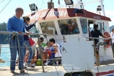 Procesión Marítima en honor de la Patrona de Cedeira - Cedeira, 16 de agosto de 2012 - fotografía por Fermín Goiriz Díaz (427)