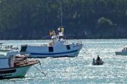 Procesión Marítima en honor de la Patrona de Cedeira - Cedeira, 16 de agosto de 2012 - fotografía por Fermín Goiriz Díaz (51)