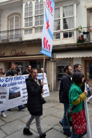 Contra la LOMCE - Huelga General en la Enseñanza Pública en Ferrol - Foto por Fermín Goiriz Díaz, 09-05-2013 (11)