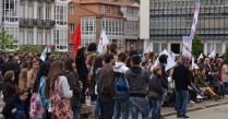 Contra la LOMCE - Huelga General en la Enseñanza Pública en Ferrol - Foto por Fermín Goiriz Díaz, 09-05-2013 (23)