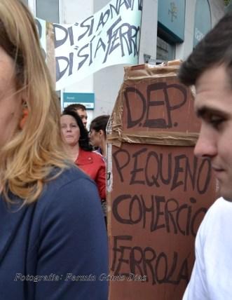Folga Comarcal Ferrol, Huelga General Ferrol, 12 de xuño de 2013 - manifestación Ferrol, 12-06-2013 - fotografía por Fermín Goiriz Díaz(131)