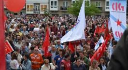 Folga Comarcal Ferrol, Huelga General Ferrol, 12 de xuño de 2013 - manifestación Ferrol, 12-06-2013 - fotografía por Fermín Goiriz Díaz(149)