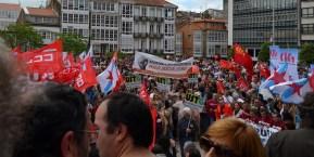 Folga Comarcal Ferrol, Huelga General Ferrol, 12 de xuño de 2013 - manifestación Ferrol, 12-06-2013 - fotografía por Fermín Goiriz Díaz(150)