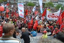 Folga Comarcal Ferrol, Huelga General Ferrol, 12 de xuño de 2013 - manifestación Ferrol, 12-06-2013 - fotografía por Fermín Goiriz Díaz(166)