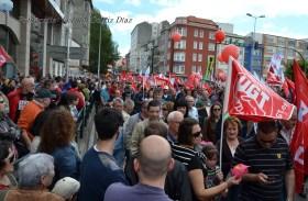 Folga Comarcal Ferrol, Huelga General Ferrol, 12 de xuño de 2013 - manifestación Ferrol, 12-06-2013 - fotografía por Fermín Goiriz Díaz(44)