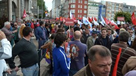 Folga Comarcal Ferrol, Huelga General Ferrol, 12 de xuño de 2013 - manifestación Ferrol, 12-06-2013 - fotografía por Fermín Goiriz Díaz(52)