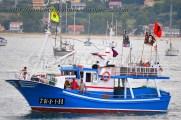 Procesión marítima en honor a la virgen del mar - Cedeira, 16-08-2013 - Fotografía por fermín Goiriz Díaz (17)