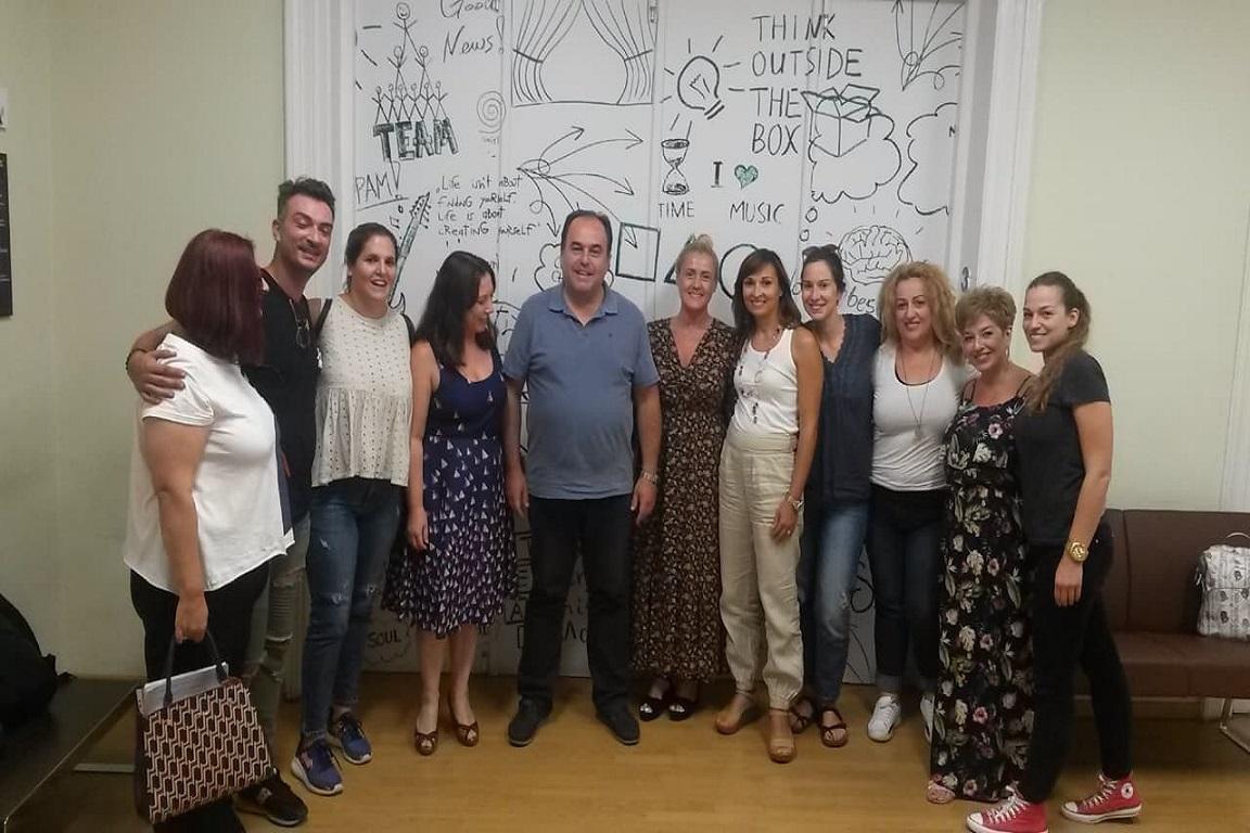 Σεμινάριο Διδακτικής της Έκθεσης για τους φιλολόγους μεγάλου φροντιστηρίου Μ.Ε. της Θεσσαλονίκης