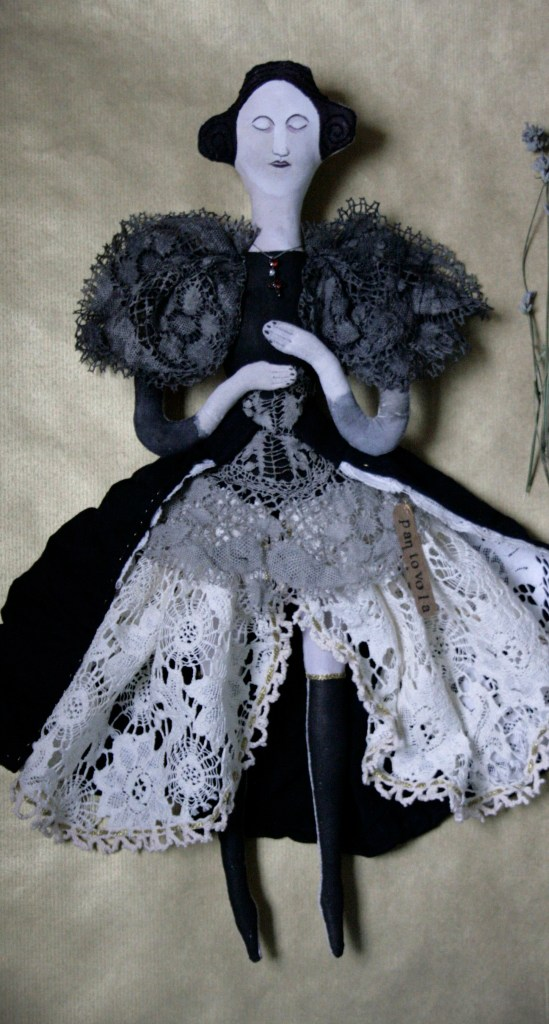 victorian art doll