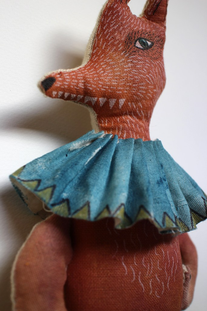 art doll fox