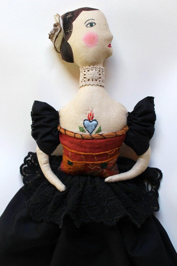 art doll victorian lady
