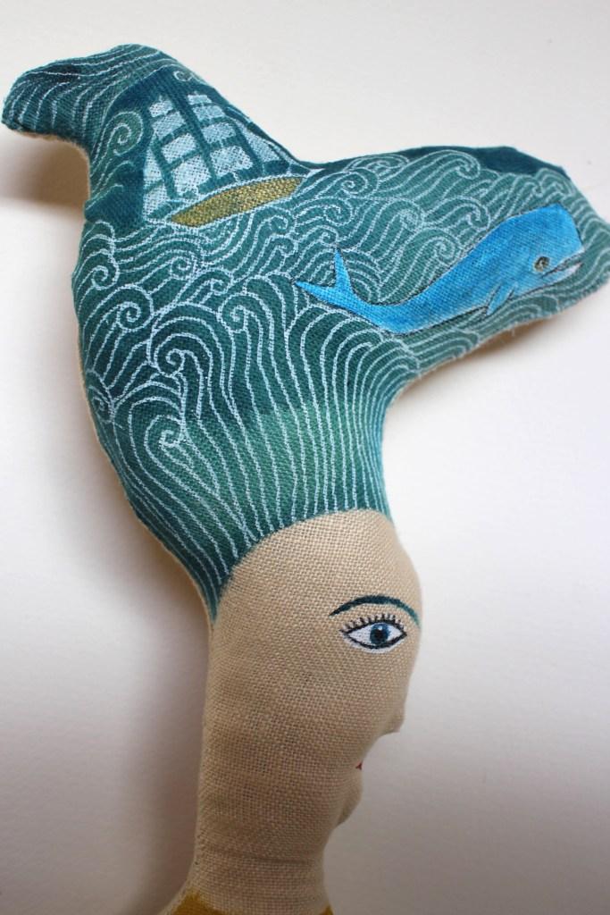 Sea Bride doll detail5