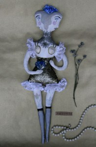 burlesque art doll
