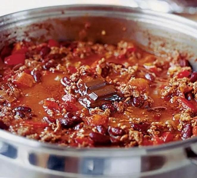 Chili Recipes - Chilli con carne.