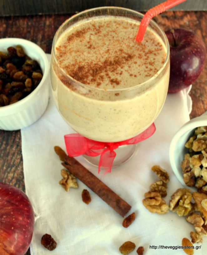 Smoothie Recipes - Apple Pie Smoothie Recipe.