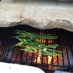 In the Nude: Grilled Garlic Scapes