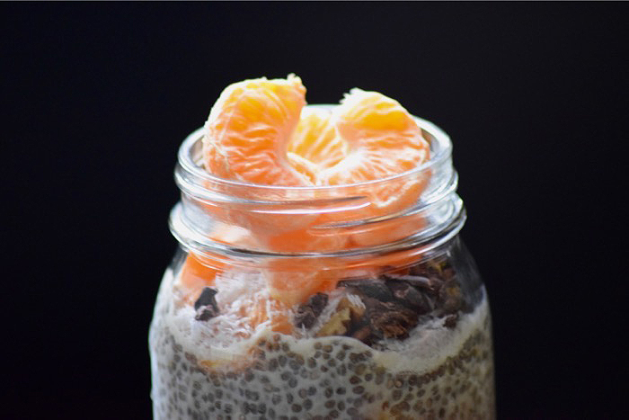 easy pudding recipe, chia seed pudding
