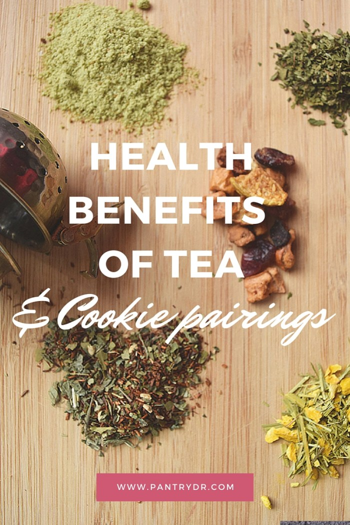 tea and cookie pairings