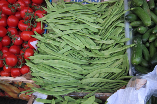 green beans to be used for fasulye