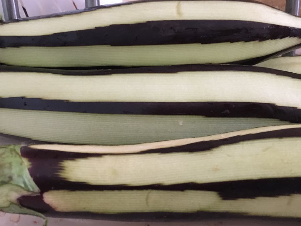 Striped Aubergines
