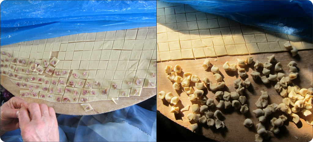The fiddly task of making mantı