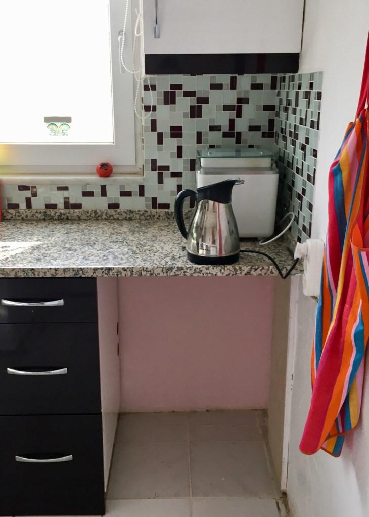 Dishwasher hole