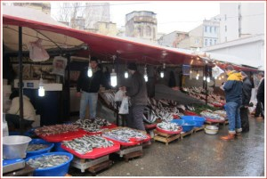 fishermen in Karakoy