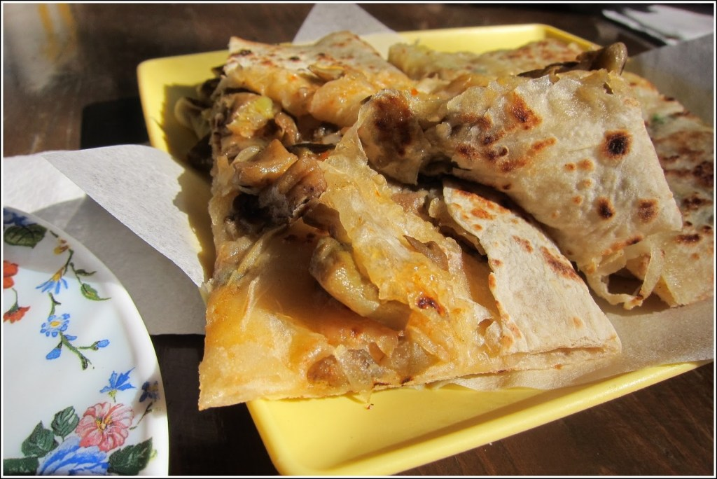 Believe me, these were mouthwatering: light and flaky with just the right amount of filling