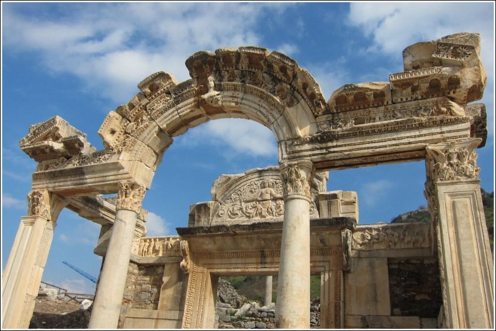 Temple of Hadrianus at Ephesus