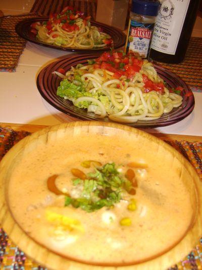 Miso Soup & Noodles