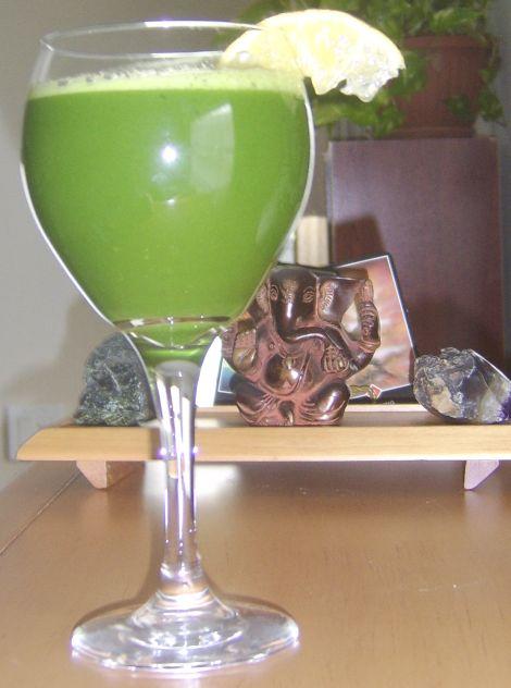 Saturday Morning Juice & Ganesh