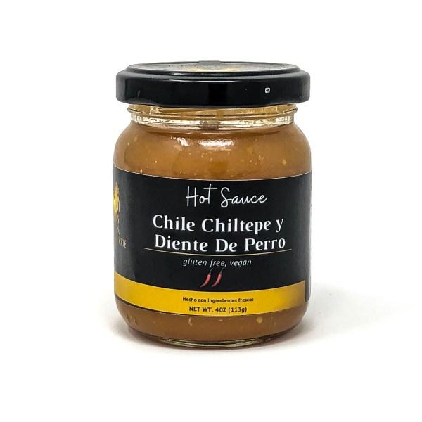Hot sauce Chile Chiltepe y diente de perro