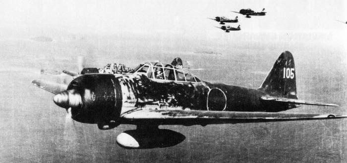 Mitsubishi A6M3/3a Zero (Zeke).