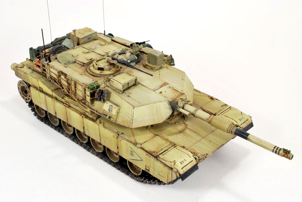 Guest Gallery: USMC M1A1 Abrams 2004, 1/35, por Chris Jerrett