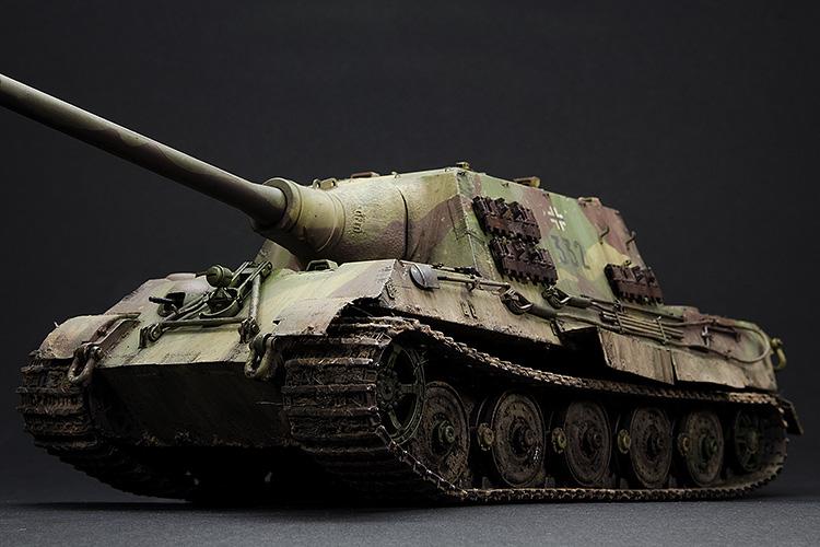 "Panzerjäger ""Jagdtiger"" Sd.Kfz.186 Frühe Produktion, done!"
