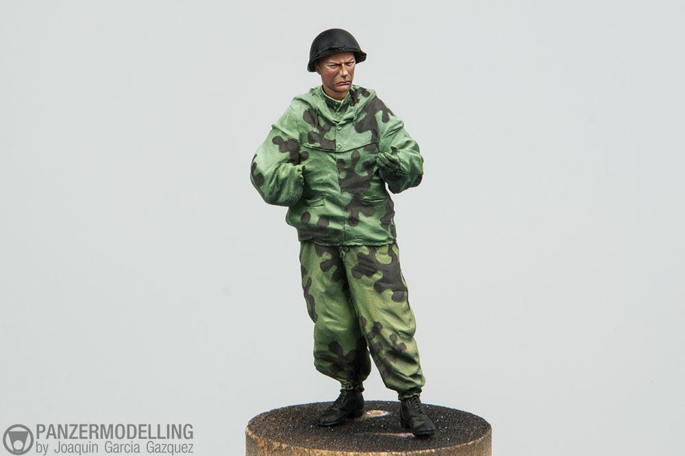 WW2 Soviet Sniper, Alpine Miniatures