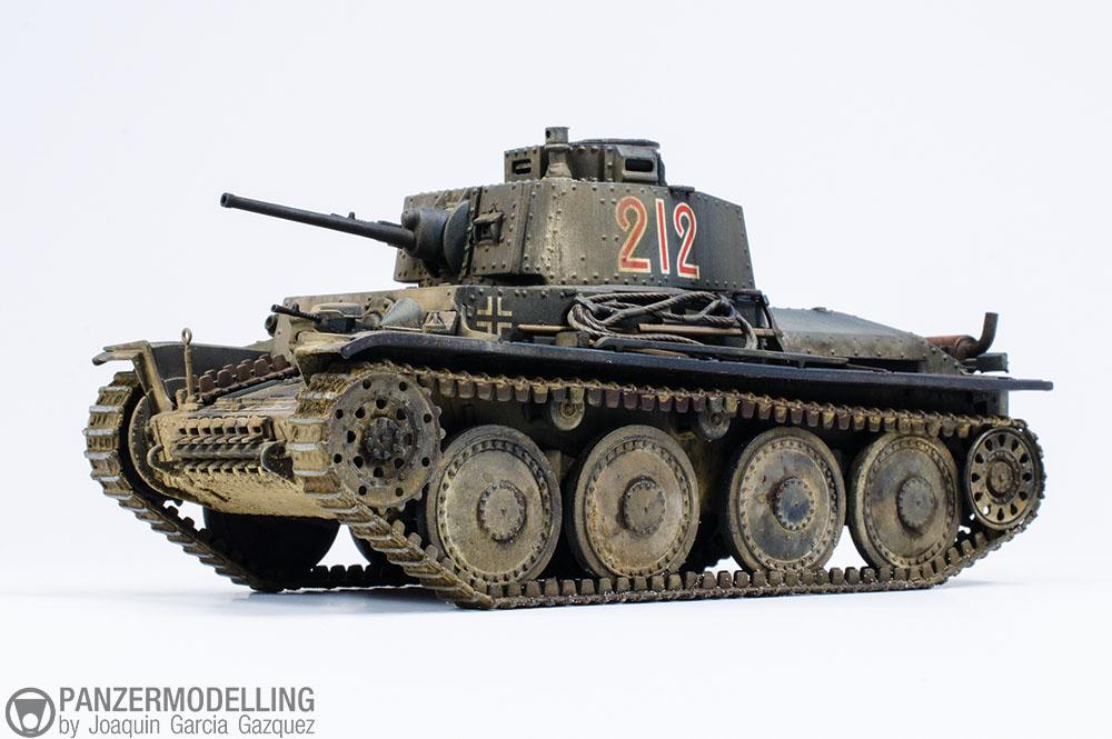 Galería Panzer 38(t)
