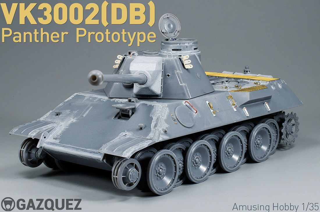 VK3002(DB) Panther Prototype: Ready to Paint