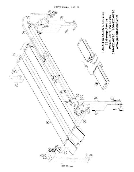 Ben Pearson LMT22 Lift Parts