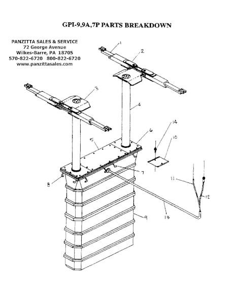 Benwil-9, GPI-9A, GPI-7P Parts