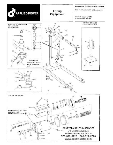 Black Hawk AC-9, AC-10 Parts