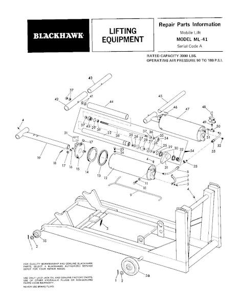 Black Hawk ML-41 Parts