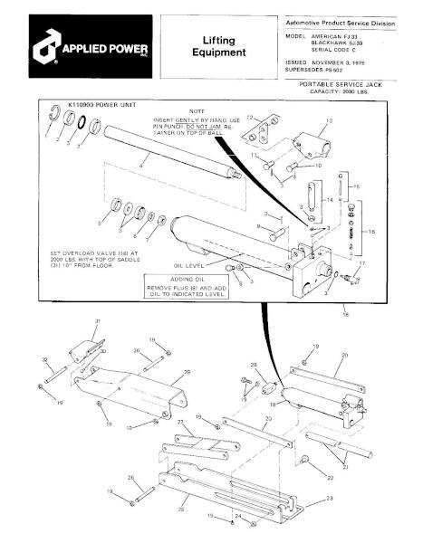 Black Hawk SJ-33 Parts