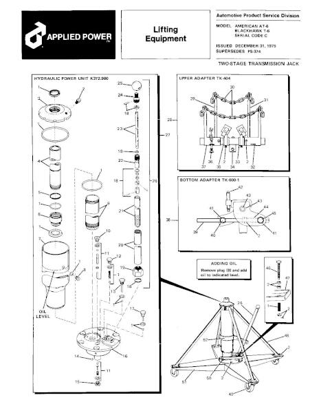 Black Hawk T-6 Parts